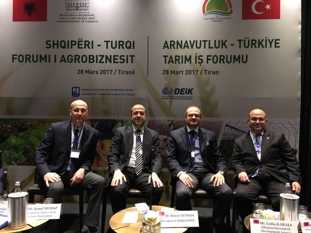 albania turkey agriculture