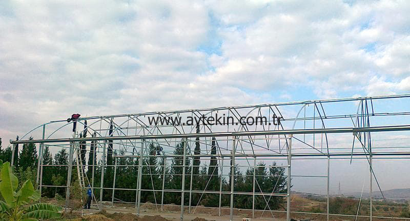 commercial greenhouse builders