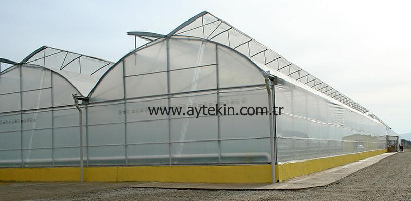 Soil Based Greenhouse Denizli Turkey