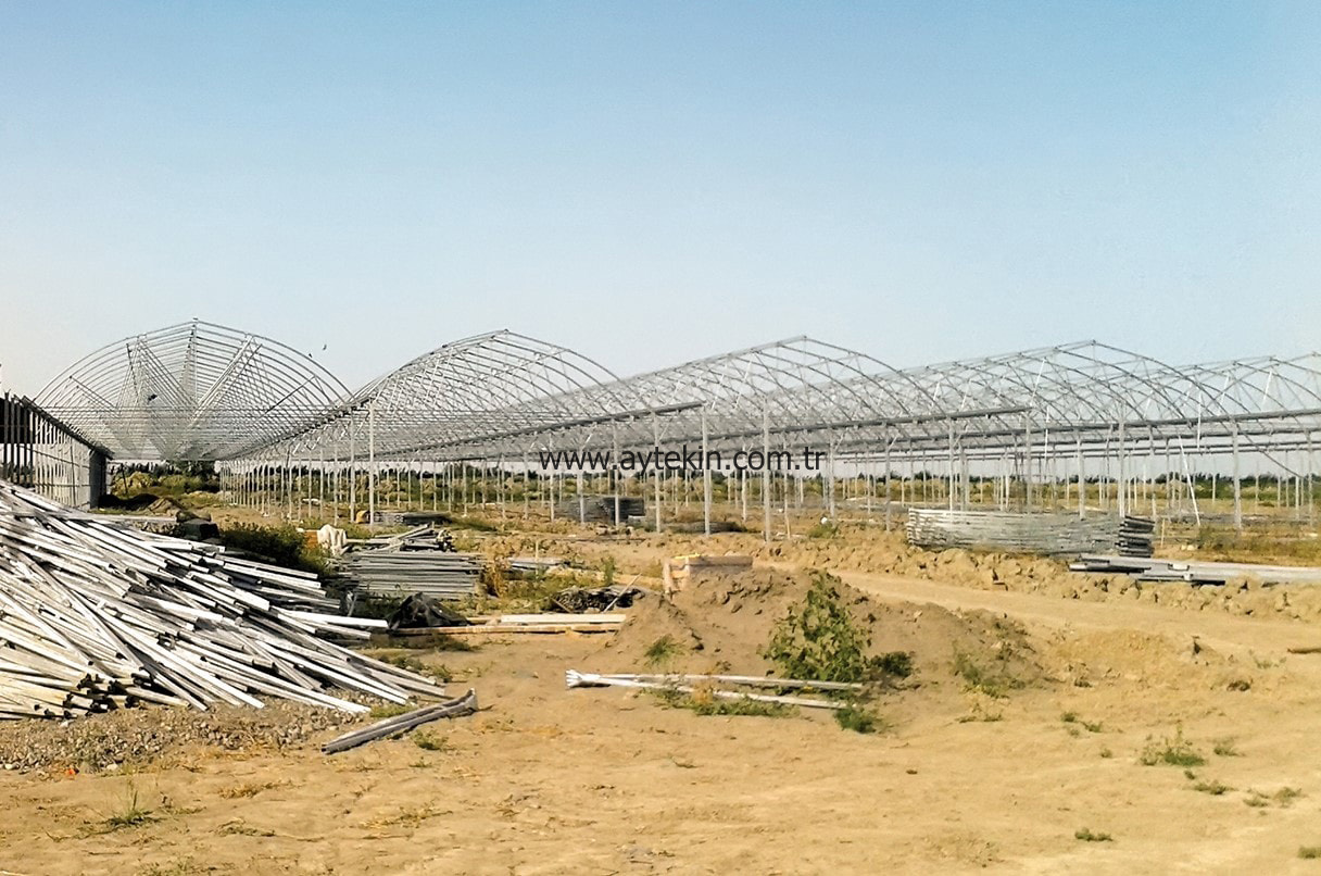 Soil Based Greenhouse Azerbaijan