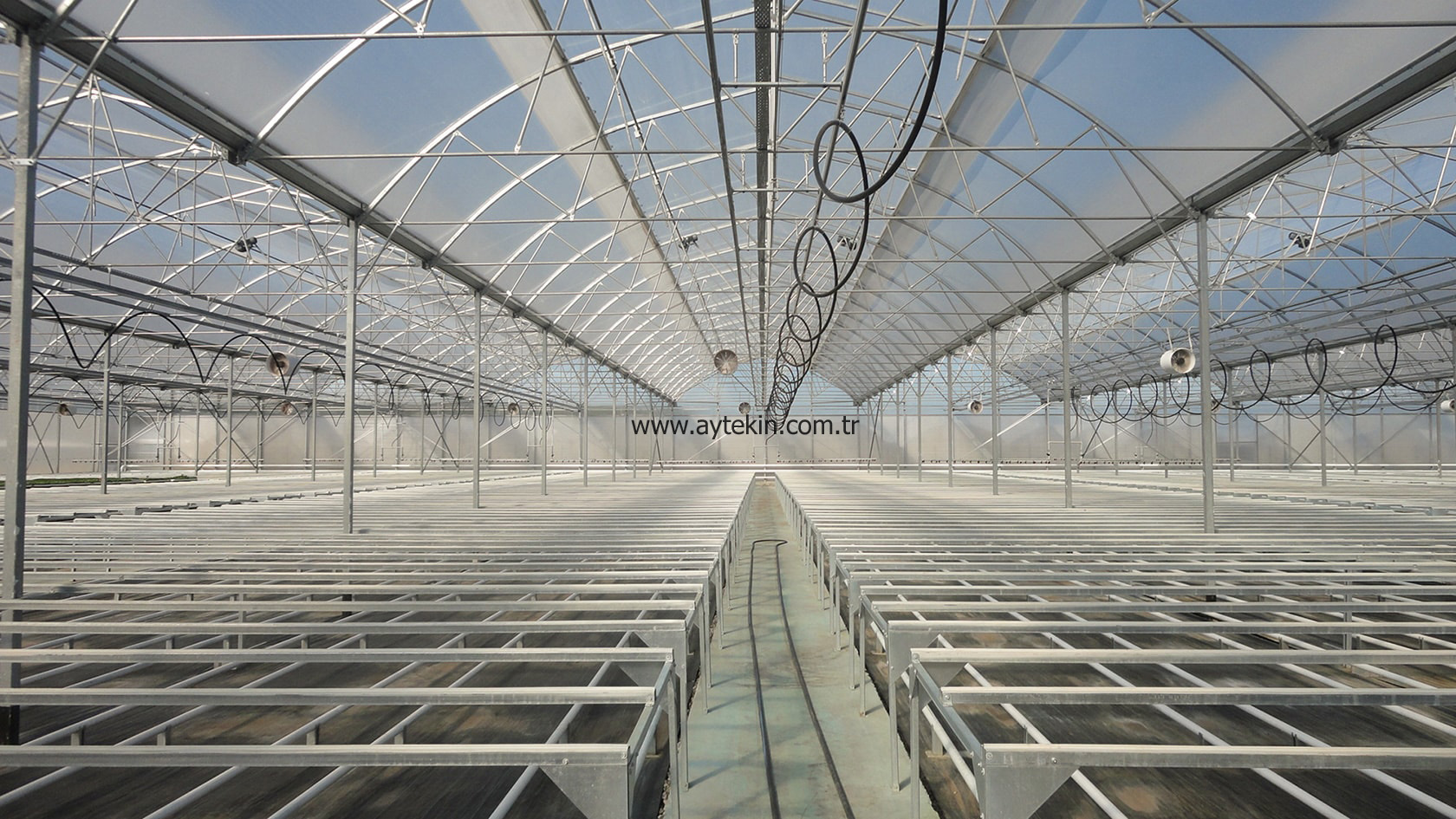 modern seedling greenhouse