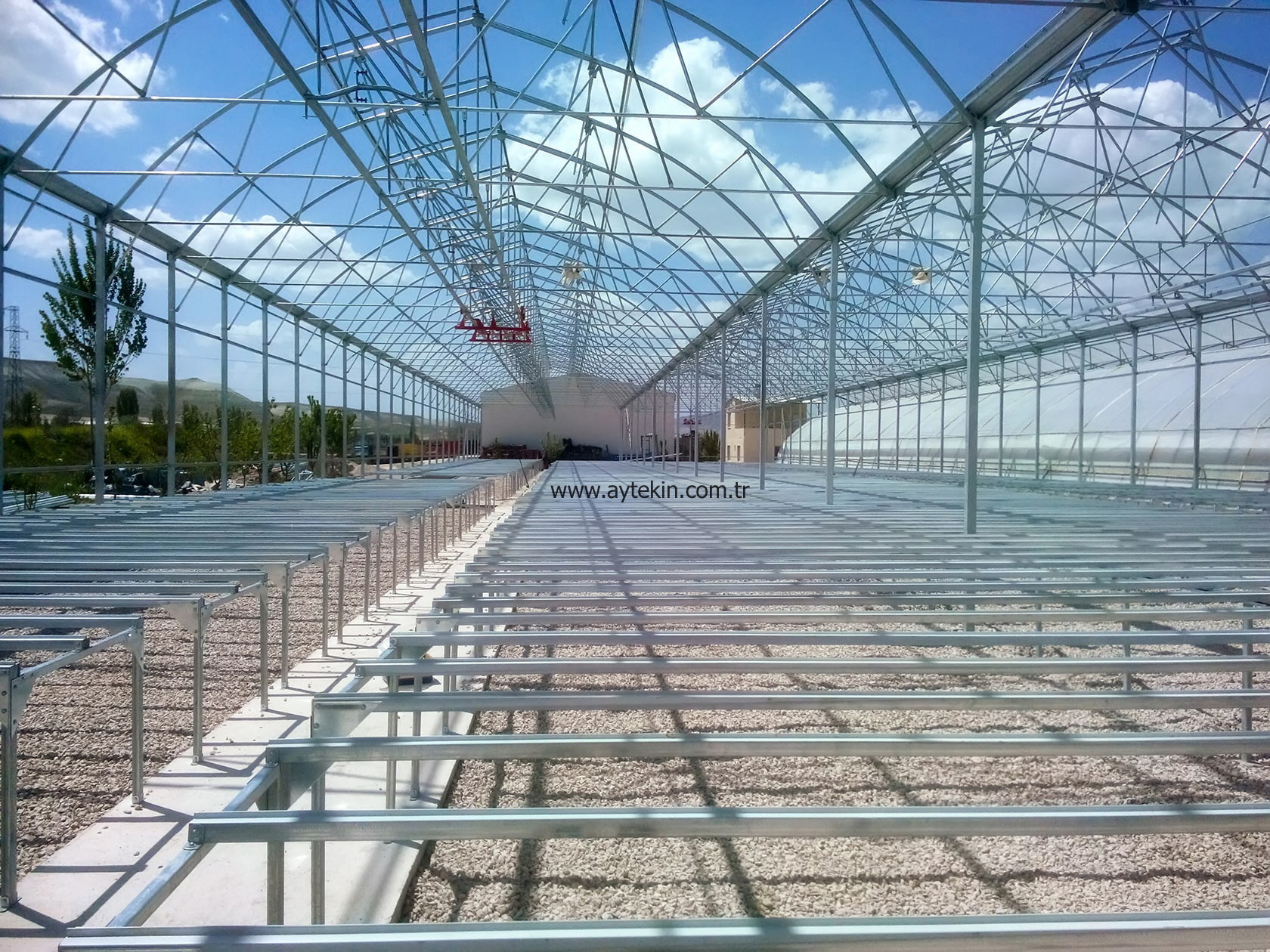 modern seedling greenhouse